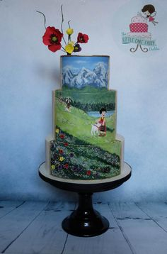 Spirited Away - Heidi Girl of the Alps by Little Cake Fairy Dublin
