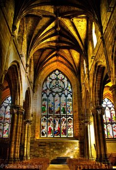 St Giles cathedra, Edinburgh, Scotland
