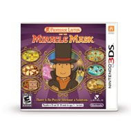 Professor Layton and the Miracle Mask is a handheld game for the Nintendo 3DS system where you must solve puzzles to advance the story. Using touch screen controls, you'll need to perform a wide variety of actions to tackle hundreds of engaging puzzles. From logic dilemmas to riddles, visual brain teasers and more, you'll find something new and delightful at every turn.