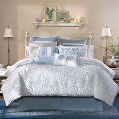 Beach Comforter, Beach Bedding Sets, Beach Theme Bedding, Queen Bedding Sets, Queen Comforter Sets, Beach House Bedroom, Beach House Decor, Home Bedroom, Beach Inspired Bedroom