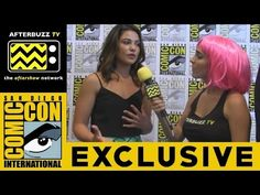 Danielle Campbell (The Originals) @ 2015 San Diego Comic-Con | AfterBuzz TV