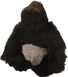 Cuddlekins Mini Gorilla Silverback (8-inch) at theBIGzoo.com, an animal-themed superstore.