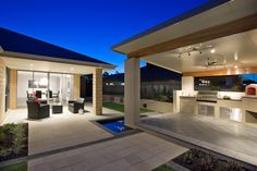 Australia's leading Patio & Pergola with 'Comfort and Style'. For all your patio design needs speak to one of our SolarSpan patio builders or dealers. Outdoor Areas, Outdoor Rooms, Outdoor Living, Outdoor Decor, Outdoor Kitchens, Patio Roof, Pergola Patio, Backyard Patio, Pergola Kits