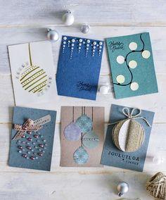 Christmas Card Crafts, Printable Christmas Cards, Christmas Art, Handmade Christmas, Holiday Crafts, Christmas Decorations, Beautiful Christmas, Tarjetas Diy, Christian Cards