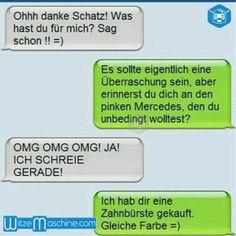 Pinker Mercedes - Lustige WhatsApp Bilder und Chat Fails 161