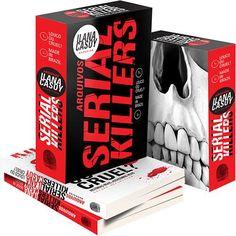 Arquivos Serial Killers: Made in Brazil Darkside Books, Dark Books, Serial Killers, Book Recommendations, Dark Side, Book Design, Brazil, Ted Bundy, Viria