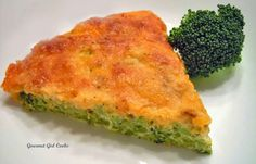 Awesome Golden Cheddar Broccoli Pie Shared on https://www.facebook.com/LowCarbZen | #LowCarb #Broccoli #Casserole