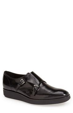 38c3a602d551f Prada Double Monk Strap Shoe (Men) available at  Nordstrom Double Monk  Strap Shoes
