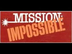 Mission Impossible theme song (Original) - YouTube