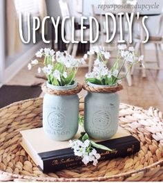 EASY Upcycled DIY's