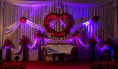 Indian Wedding Reception Decorations | valentine theme wedding decor cochin kochi kerala
