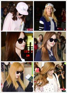 SNSD Sunny, Hyoyeon, Yoona, Seohyun, Taeyeon, Tiffany go to Japan for Japan SM Town 03/10/2014 and 04/10/204