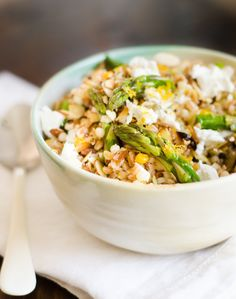 Recipe: Spring Grain Salad with Asparagus & Meyer Lemon — Lunch Recipes from The Kitchn