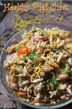 YUMMY TUMMY: Healthy Bhel Chaat Recipe - Peanut Chaat Recipe