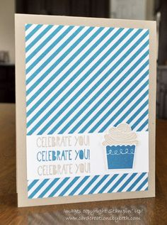 It's a KISS Card (Keep It Simple Saturday) Card Creations by Beth