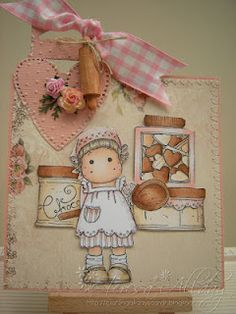 Welcome to Craftingallday Creations Magnolia Colors, Magnolia Stamps, Handwritten Letters, Letter Writing, I Card, Cute Girls, Birthdays, Arts And Crafts, Teddy Bear
