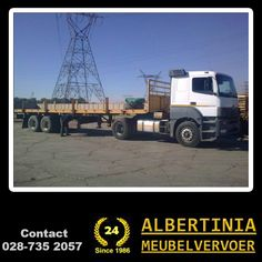 Although Albertinia Meubelvervoer is regarded as a furniture removal company, we also move all other types of equipment and implements and therefore can be contacted for all types of transport. You say where and we will get it there! #removal #transport.