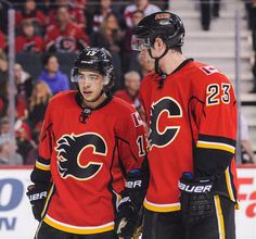 Calgary s dynamic duo of Johnny Gaudreau and Sean Monahan put a goal on a  silver platter for Jiri Hudler Thursday. Watch the Flames do their best ... dfcc85130