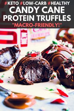 Candy Cane Protein Balls Candy Cane Protein Balls One Clever Chef Simple Fitness Recipes 100 Gluten-Free onecleverchef Protein Balls These Candy Cane Protein nbsp hellip dessert no sugar Healthy Lunches For Kids, Healthy Eating Recipes, Real Food Recipes, Keto Recipes, Protein Recipes, Vegetarian Recipes, Healthy Breakfasts, Healthy Baking, Free Recipes