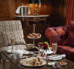 Afternoon Tea at the Convent Garden Hotel in London