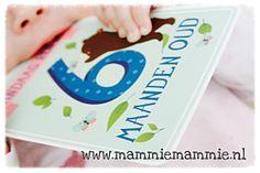 Milestone Baby cards, my baby is 6 months. Mijn baby is 6 maanden