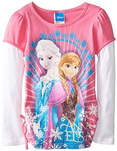 PINK FROZEN TEE - Google Search
