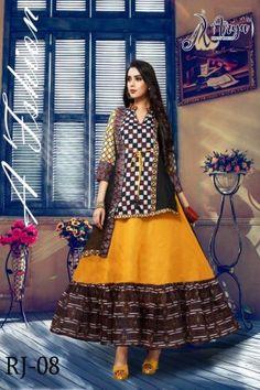 aryadress,maharani gown,designfull gown,fancy woman gown | Arya Dress Maker Printed Gowns, Printed Kurti, Fashion Sale, Womens Fashion, Digital Print, Kurti Designs Party Wear, Dress Indian Style, Whatsapp Messenger, Party Wear Dresses