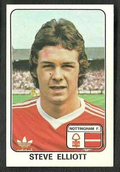 Football Trading Cards, Football Cards, Football Players, Baseball Cards, Football Stuff, Nottingham Forest, Football Stickers, Back In The Day, The Past