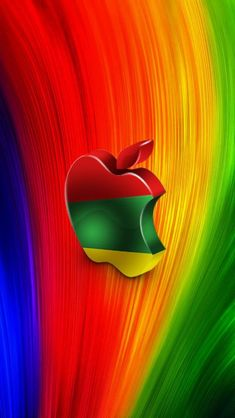 Check out this wallpaper for your iPhone. Apple Logo Wallpaper Iphone, Galaxy Phone Wallpaper, Bling Wallpaper, Iphone Homescreen Wallpaper, Abstract Iphone Wallpaper, Phone Screen Wallpaper, Rainbow Wallpaper, Iphone Background Wallpaper, Butterfly Wallpaper