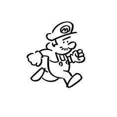 Super Mario Run. #supermariorun #nintendo #任天堂 #yunagaba #kaerusensei #長場雄