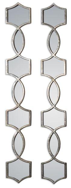 Vizela Metal Mirrors, Set of 2