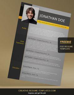 37 Best Free Resume Templates images | Free resume, Resume cv, Cv ...