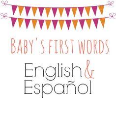 A bilingual baby's f