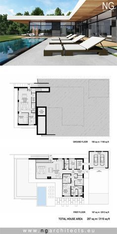 modern house plan. Villa in Bjared, Sweden. Design by NG architects www.ngarchitects.eu