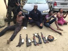 Welcome to NewsDirect411: Nigerian Police Arrest And Recovered 5 AK-47 Rifle...