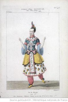 [Chao-Kang, ballet-pantomime de Louis Henry et Luigi Carlini : costume d'une danseuse / gravé par Maleuvre] Auteur : Maleuvre, Louis (1785-18.. ; graveur). Graveur Éditeur : Martinet (Paris) Date d'édition : 1834 Sujet : Costume de danse