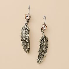 not the biggest fan of feather jewelry but these are pretty
