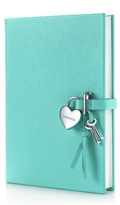 tiffany co heart lock diary in tiffany blue grain leather more colors available - Tiffany And Co Color Code