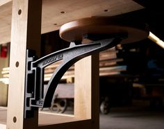 """Join 10 people right now at """"The Benchcrafted Swing Away Seat"""" #cheers #crafts"""