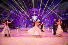 Strictly Come Dancing week 10, 2015. Group dance off Waltz. Credit: BBC / Guy Levy