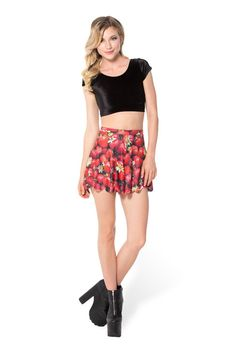 Strawberry Shorties by Black Milk Clothing.
