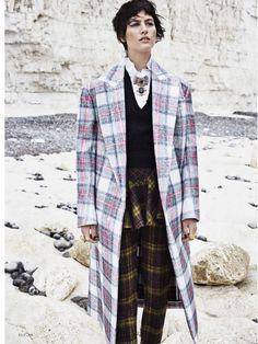 Highland Real: Athena Wilson By Horst Diekgerdes For US Elle October 2013