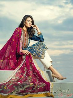 Latest arrival coming soon Sania Maskatiya lawn dresses for women 2015 (6)