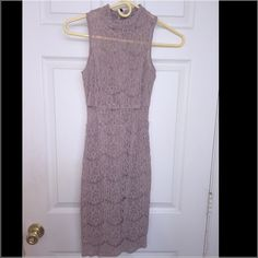 Bodycon all occasions dress. Only worn once. Size XS mid length dress. Charlotte Russe Dresses Midi