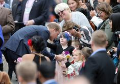 The Duke of Cambridge met withsome of the families who have benefitted from The Cridge Centre services