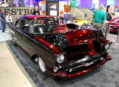 Wild 1957 Chevy Bel Air Pro-Street @ SEMA Show 2013