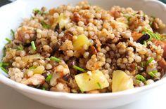 Lunch Recipes, Healthy Recipes, Polenta, Fried Rice, Quinoa, Salads, Yummy Food, Treats, Baking