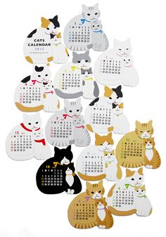 Year of the Critter 2015 Calendar in Cats