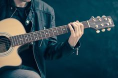 The guitar holds interest for people from all walks of the most popular musical instruments ever created.If you want to learn guitar or wish to become a Best Acoustic Guitar, Acoustic Guitar Lessons, Guitar Chords, Acoustic Guitars, Music Guitar, Ukulele, Guitar Classes, Guitar Logo, Music Chords