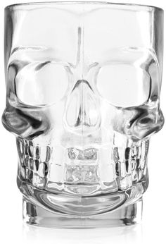 ThinkGeek :: Crystal Skull Glassware